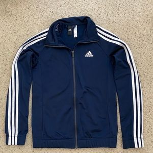 Adidas Navy Blue Track Jacket
